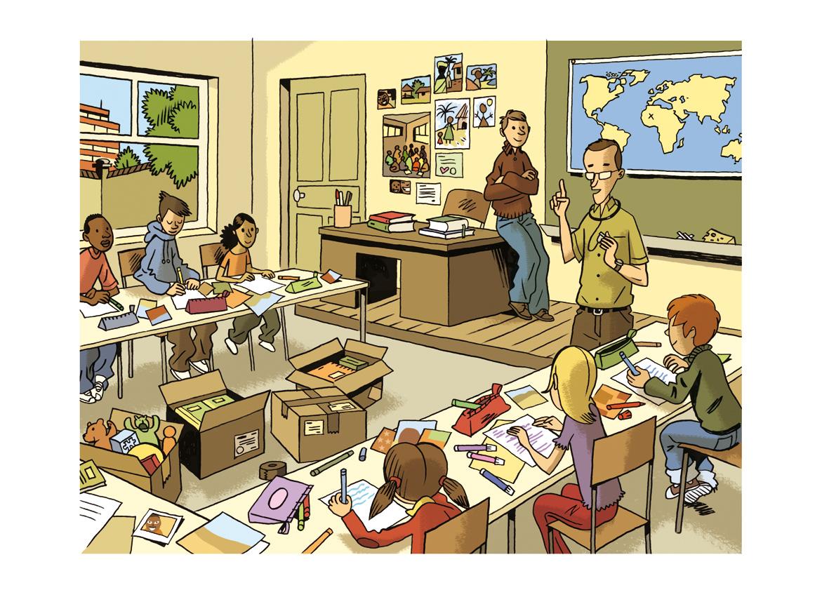 Salle de classe dessin id e d 39 image de meubles - Dessin classe ...